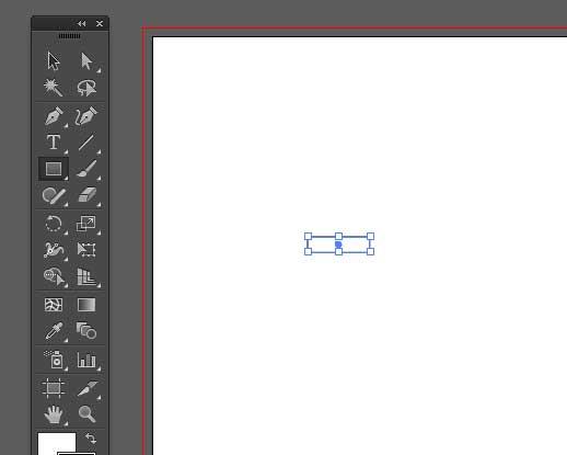 長方形が描画される